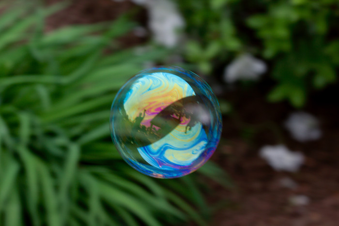 Day 121 - May 1, 2011 - Soap Bubble