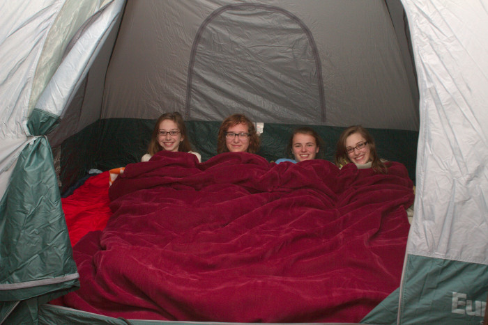 Day 336 - December 2, 2011 - Camping Trip...