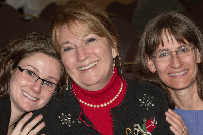 Day 340 - December 6, 2011 - Collyn, Krystal, and Cathy
