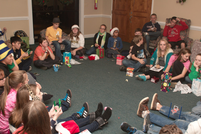 Day 348 - December 14, 2011 - X-Factor Christmas Party